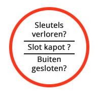 Slotenmaker Caes Waregem - dienst